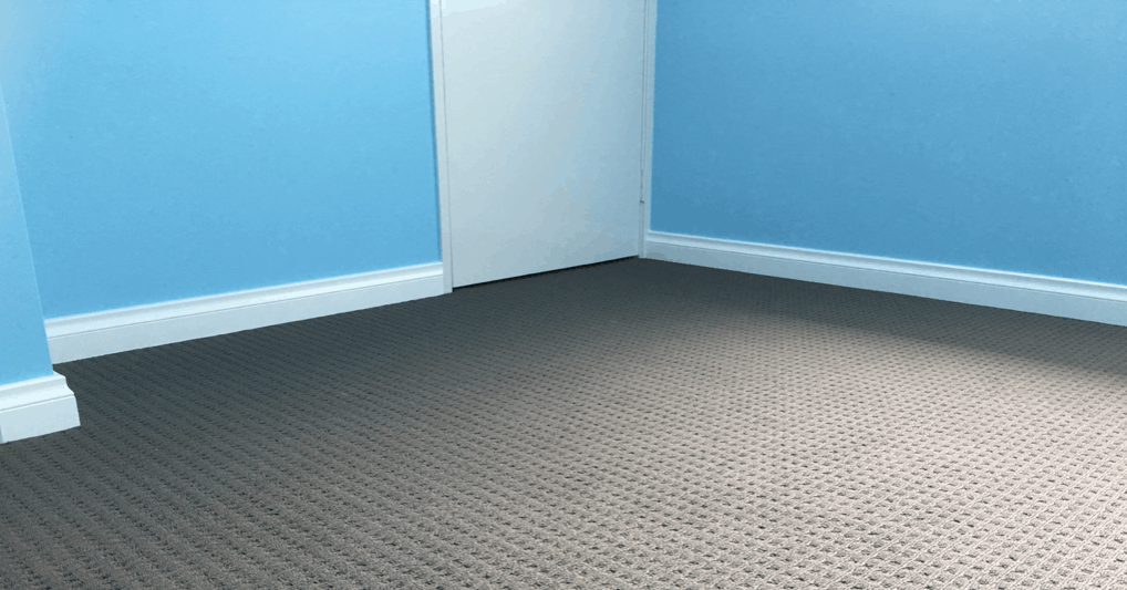 Octopus Skirting Boards Perth–  Beautiful blue home with 92mm Lamb Tongue skirting boards